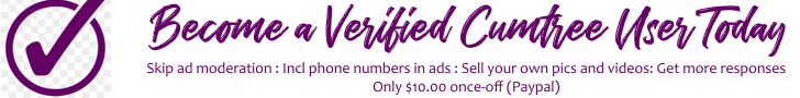Become a Cumm Ads verified user